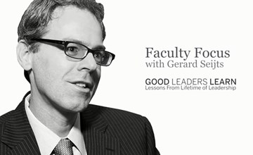 Faculty Focus: Good Leaders Learn
