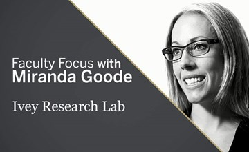 Faculty Focus: Miranda Goode
