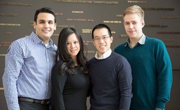 HBA and MBA teams compete for Hult Prize