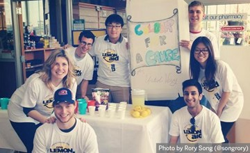 Ivey students bring business savvy to annual LemonAid fundraiser