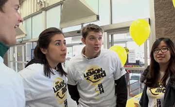 Hunter Straker & Ivey Give LemonAid 2014
