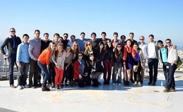 Real-world learning draws Ivey students to Israel