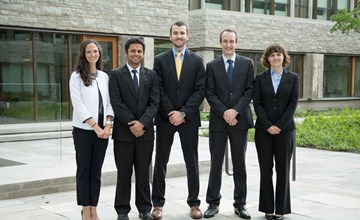 MBA students challenged at McKinsey & Company Case Competition