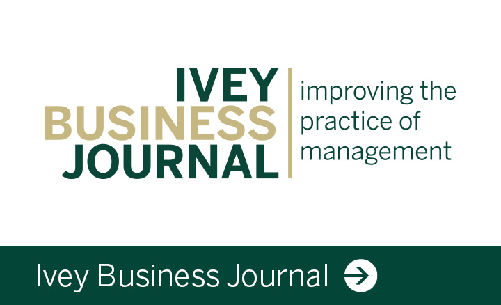 Ivey Business Journal