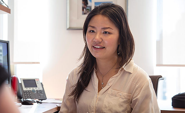 Laurina Zhang Riding The Wave To Research Success News
