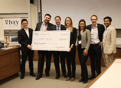 Ibk capital ivey business plan competition