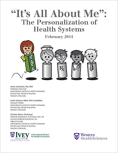 """It's All About Me"": The Personalization of Health Systems"