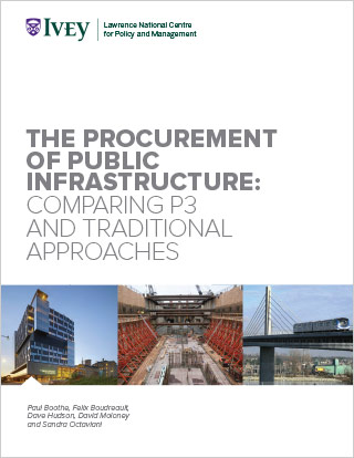 The Procurement of Public Infrastructure: Comparing P3 and Traditional Approaches