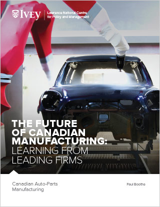 The Future of Canadian Manufacturing: Canadian Auto-Parts Manufacturing