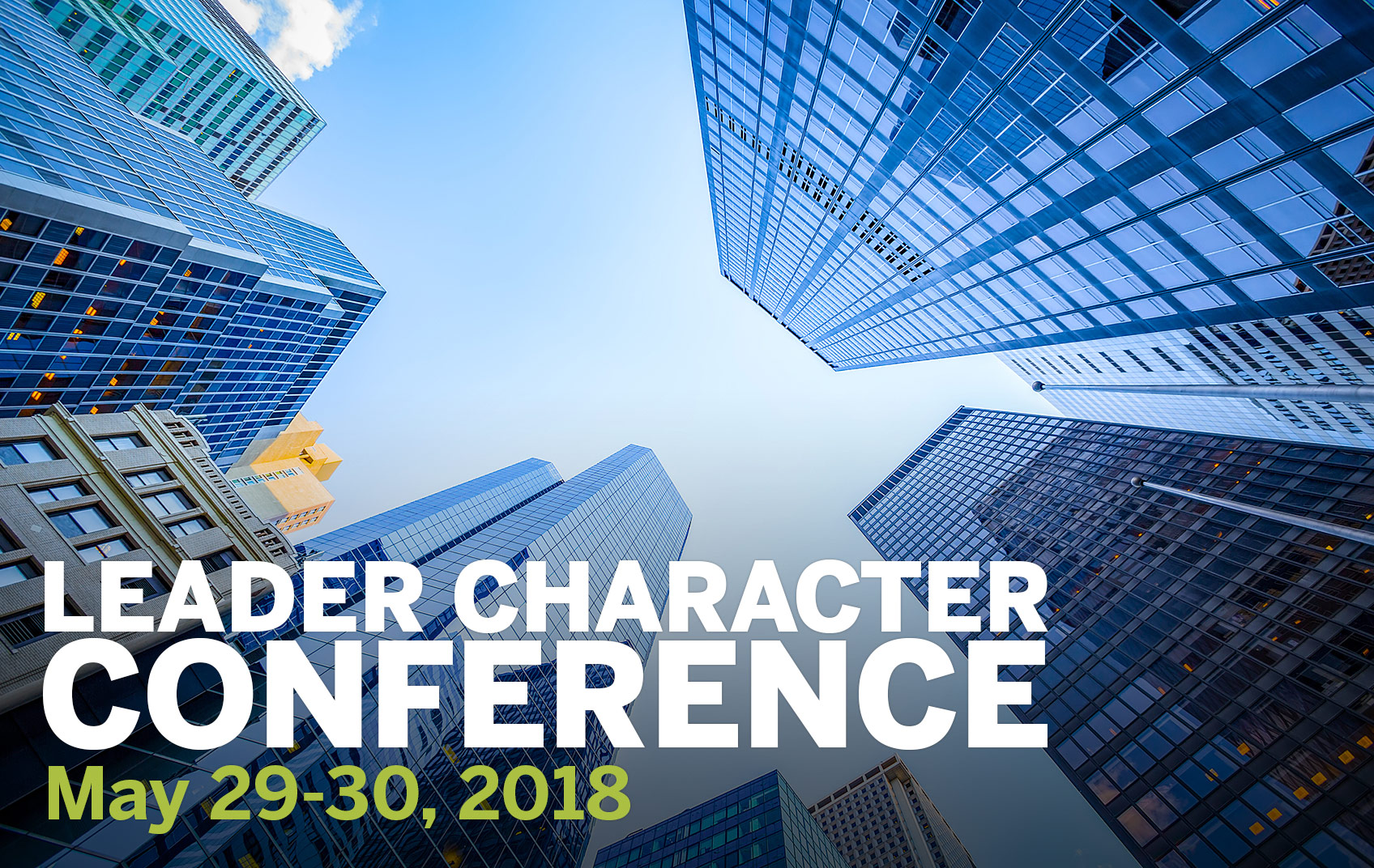 2018 Leader Character Conference