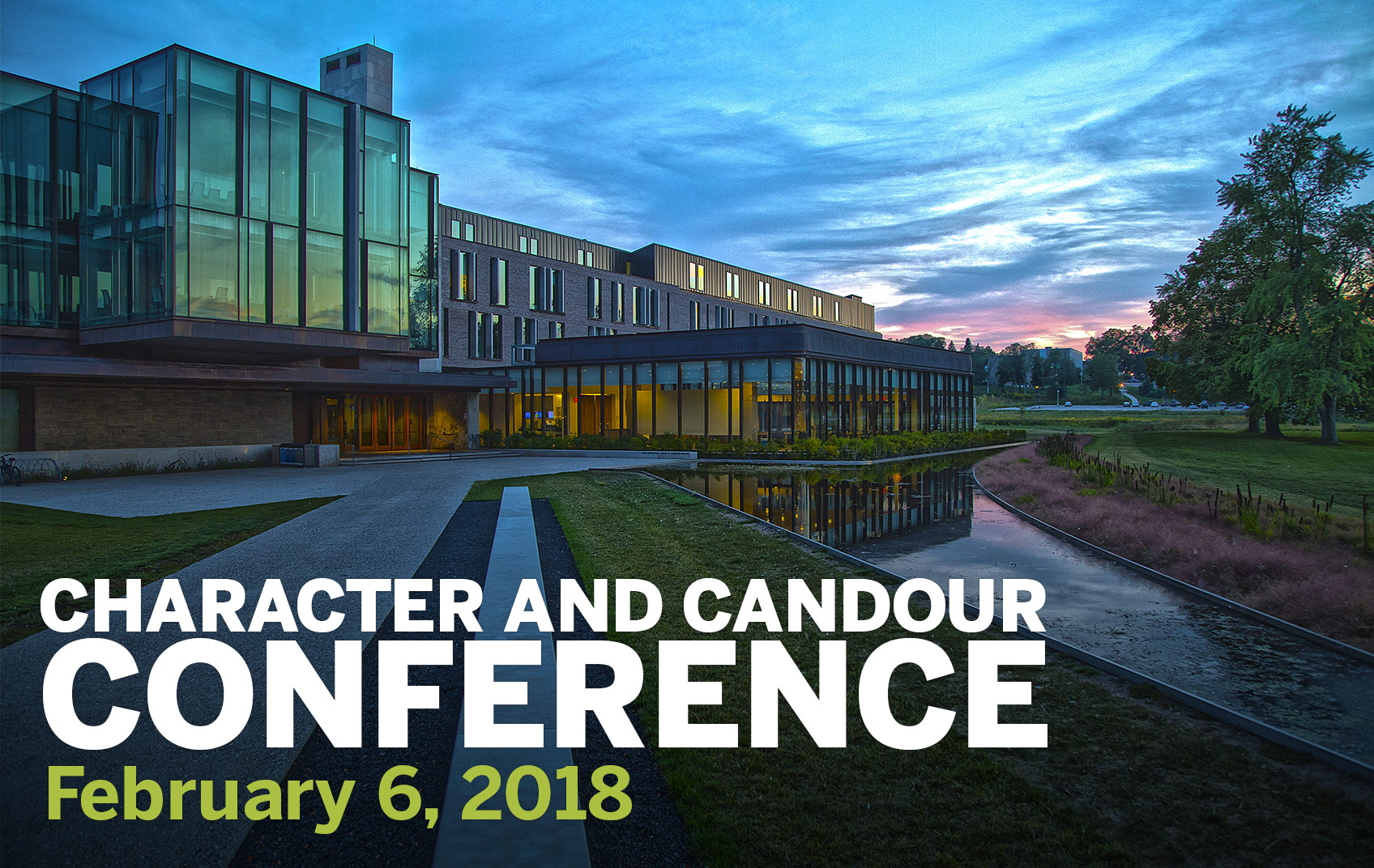 Character and Candour Conference
