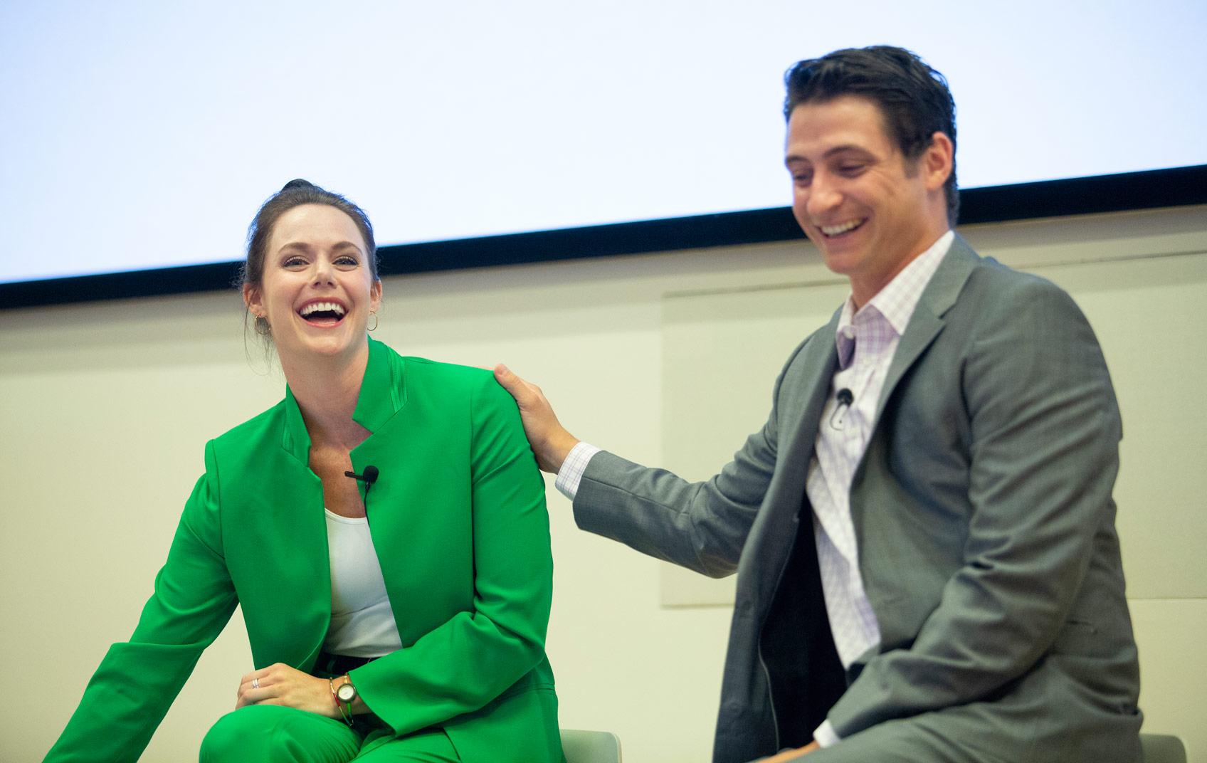 Tessa Virtue And Scott Moir Speak To Ivey Students
