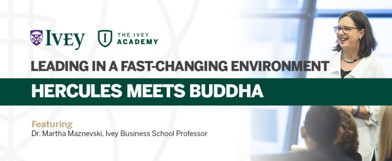 Leading in a Fast-Changing Environment banner