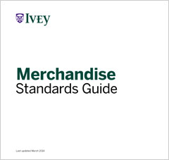 Merchandise Standards Guide