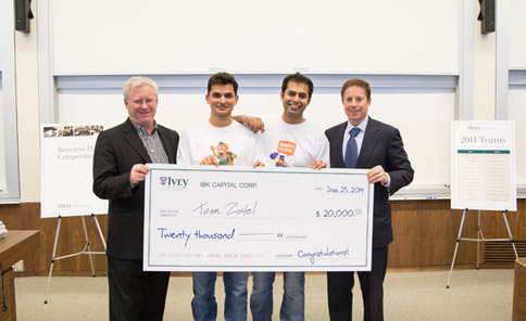 ivey business plan competition